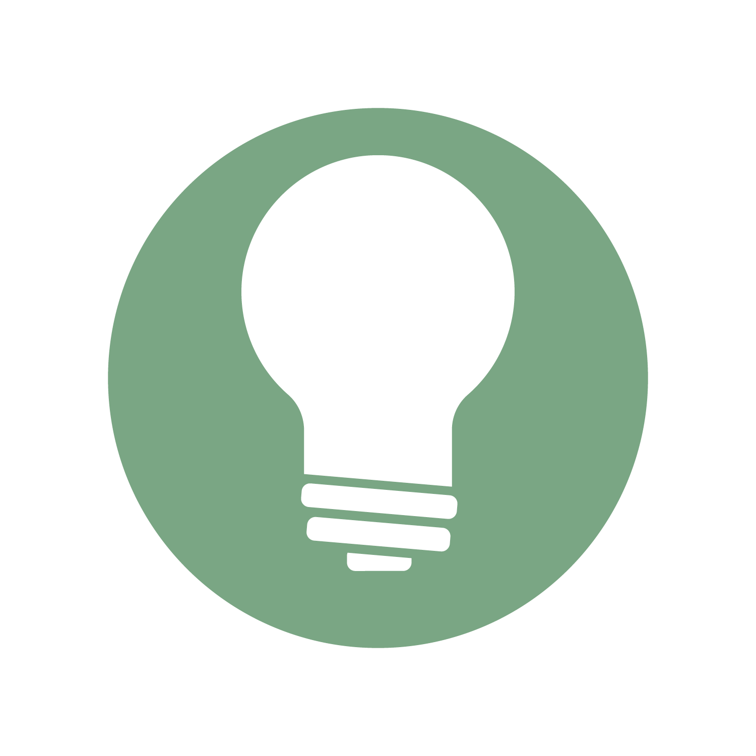 Lightbulb icon representing Consulting Services.