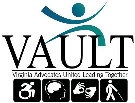 Virginia Advocates United Leading Together logo