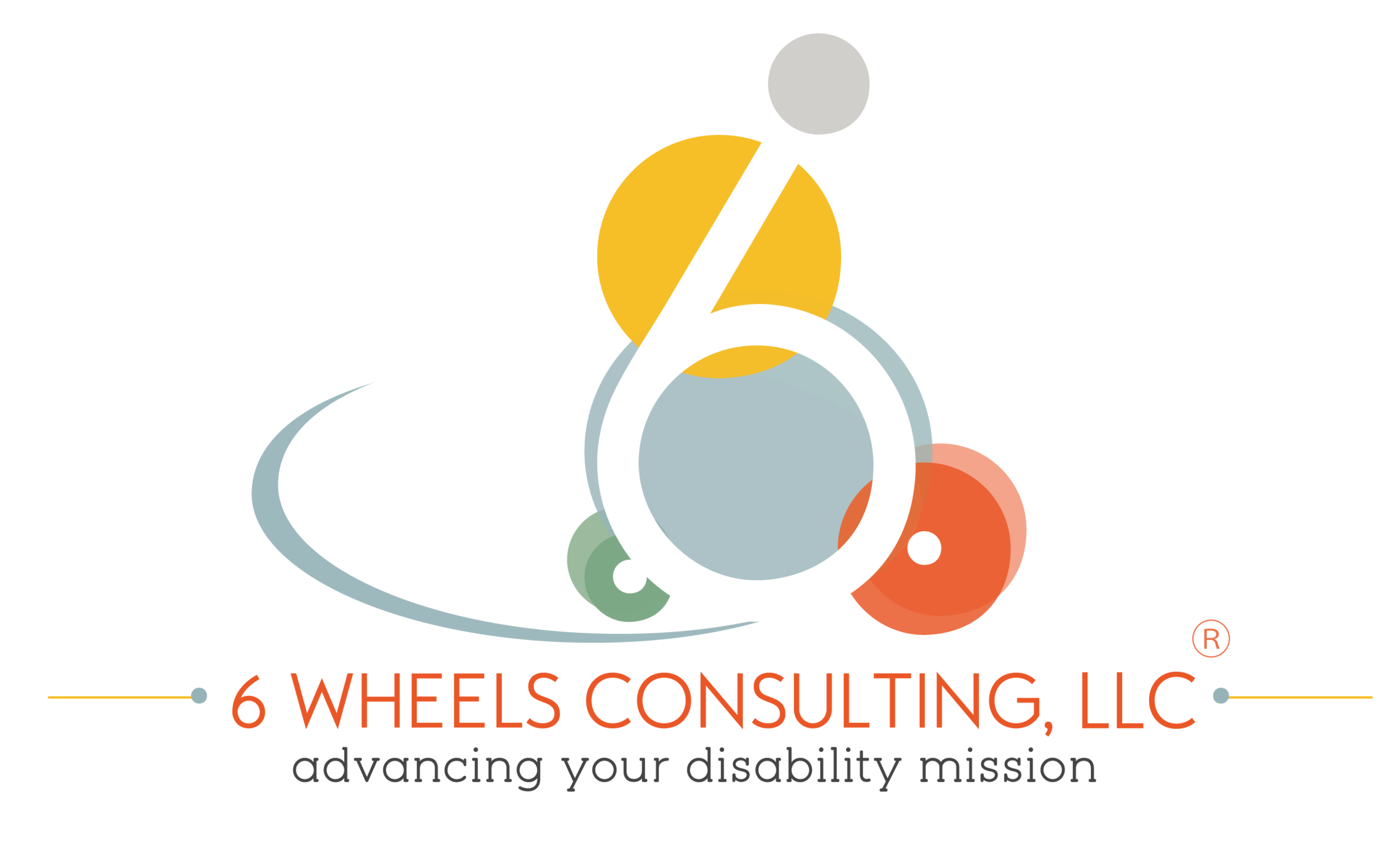 6 Wheels Consulting logo