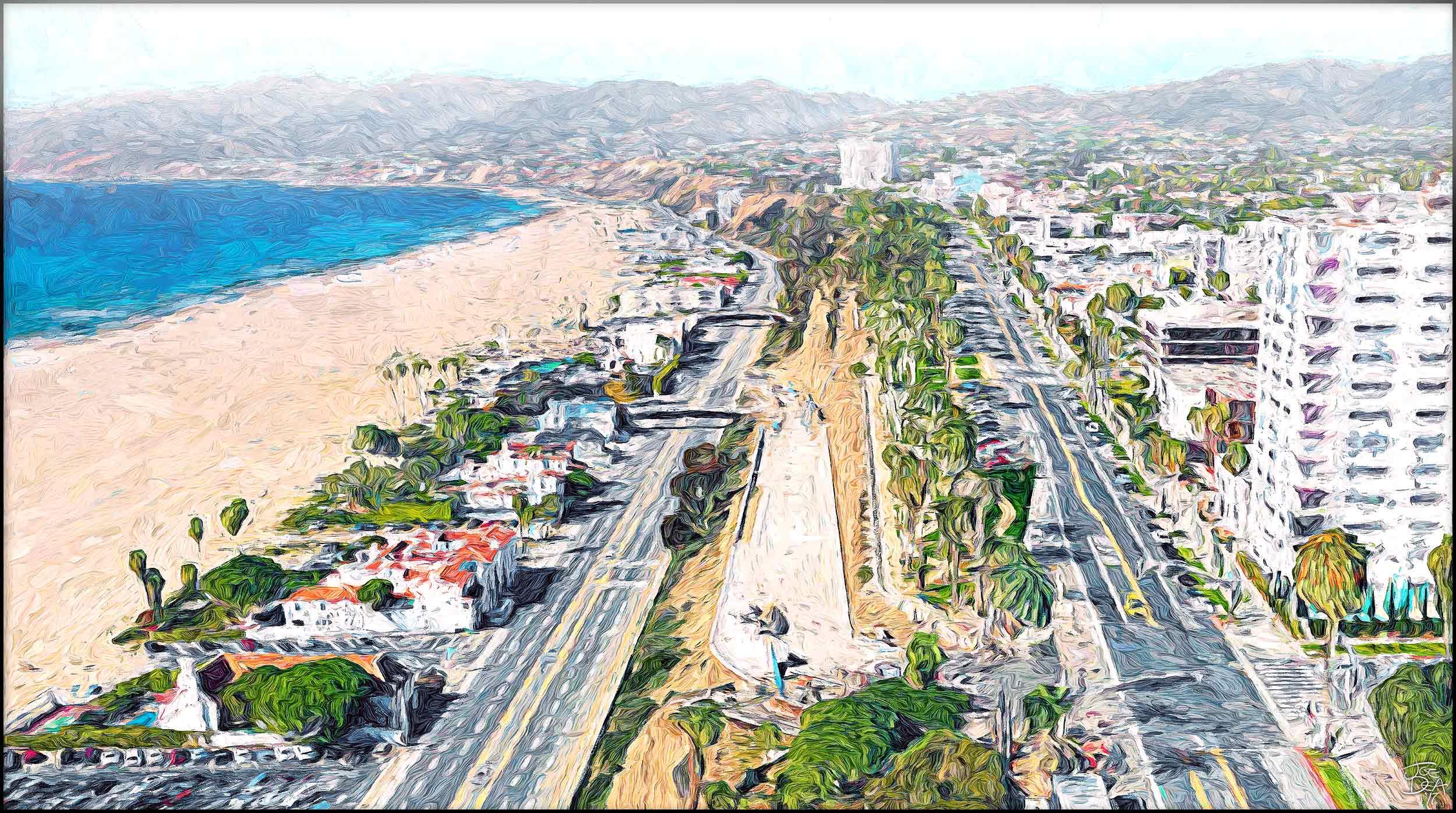 PCH Santa Monica Incline