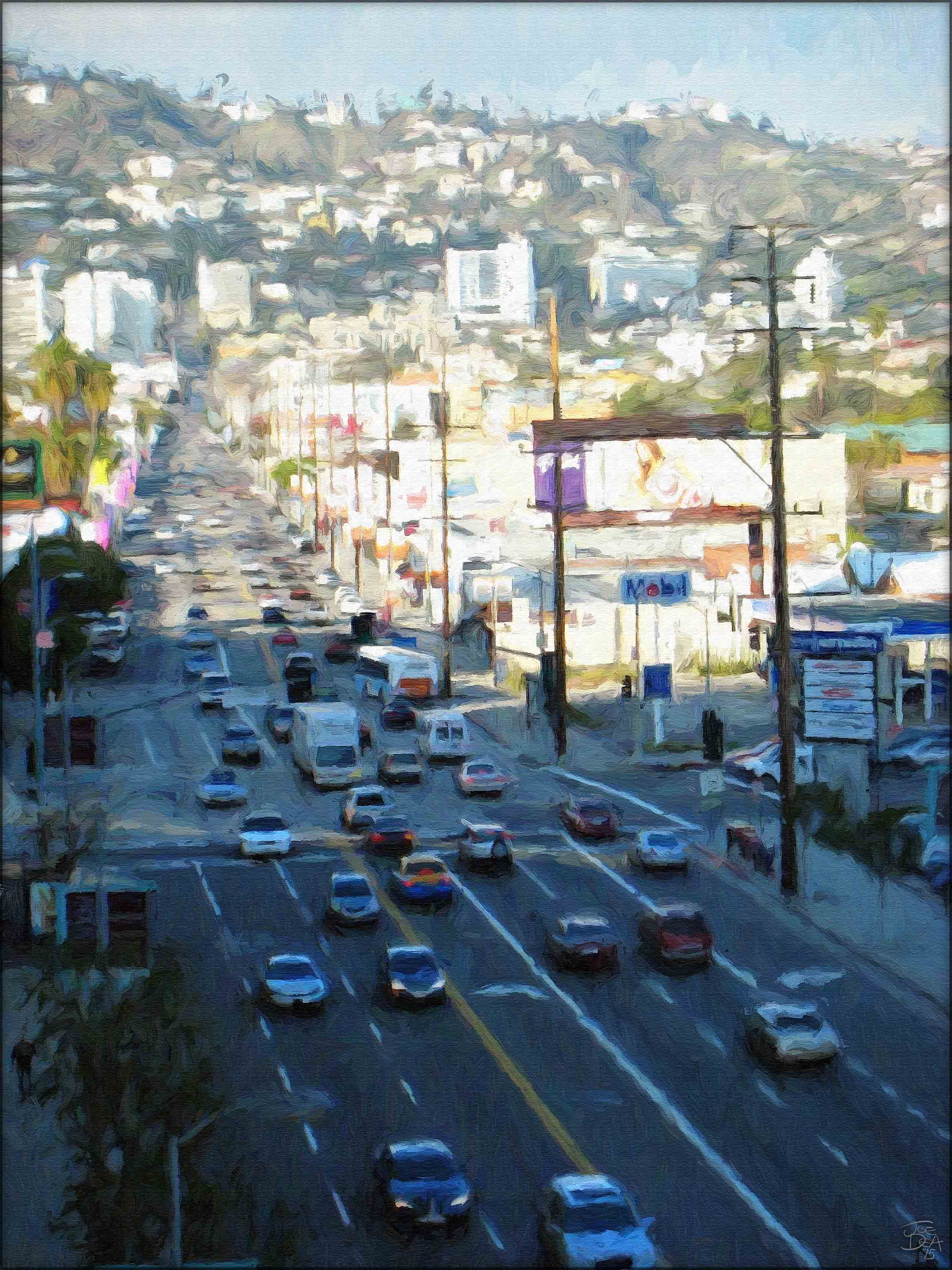 West Hollywood - La Cienega from Beverly Center
