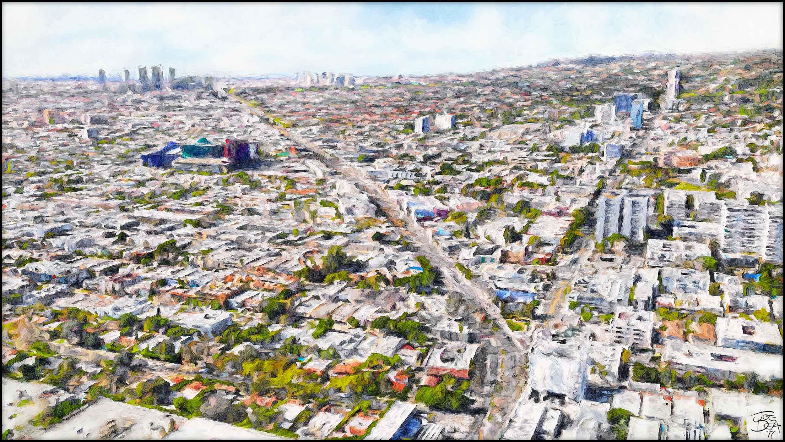 West Hollywood - Santa Monica Blvd & Holloway Blvd