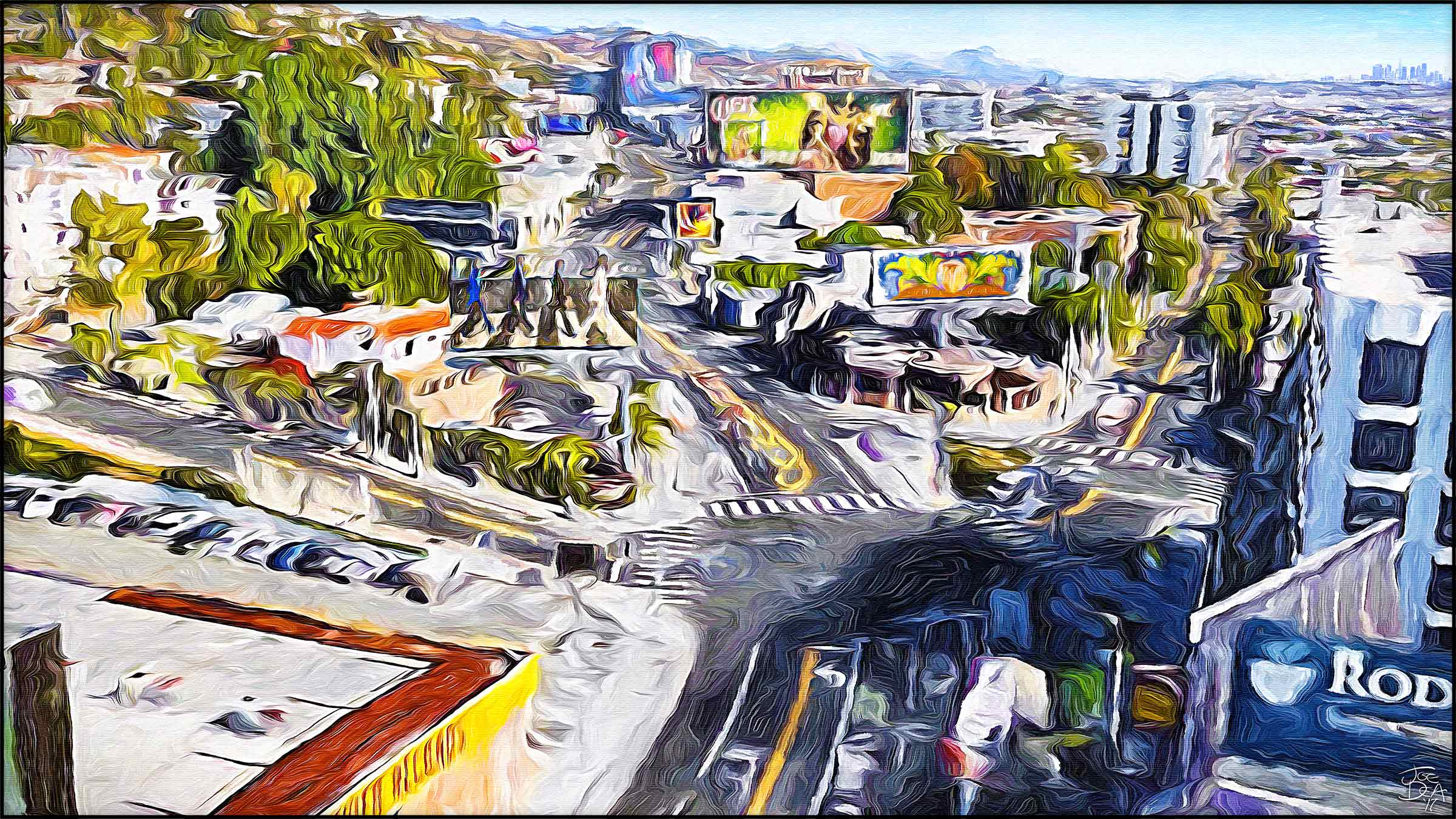West Hollywood - Sunset & Holloway