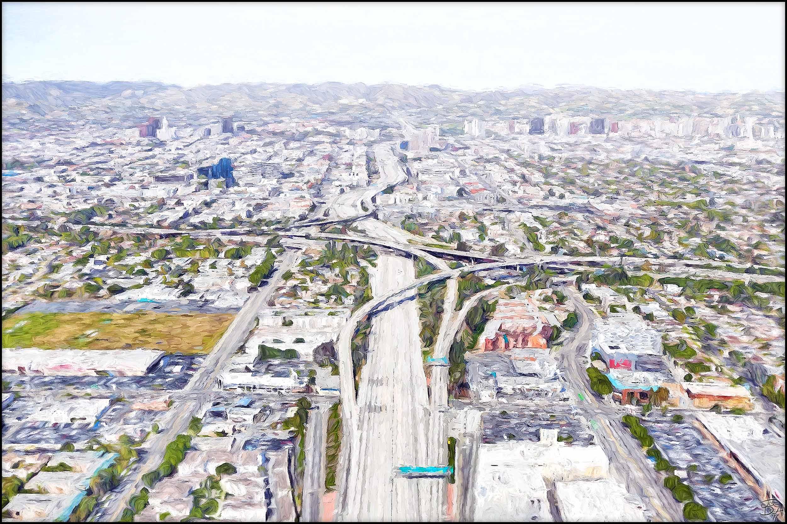 Los Angeles - 405 / 10 Interchange