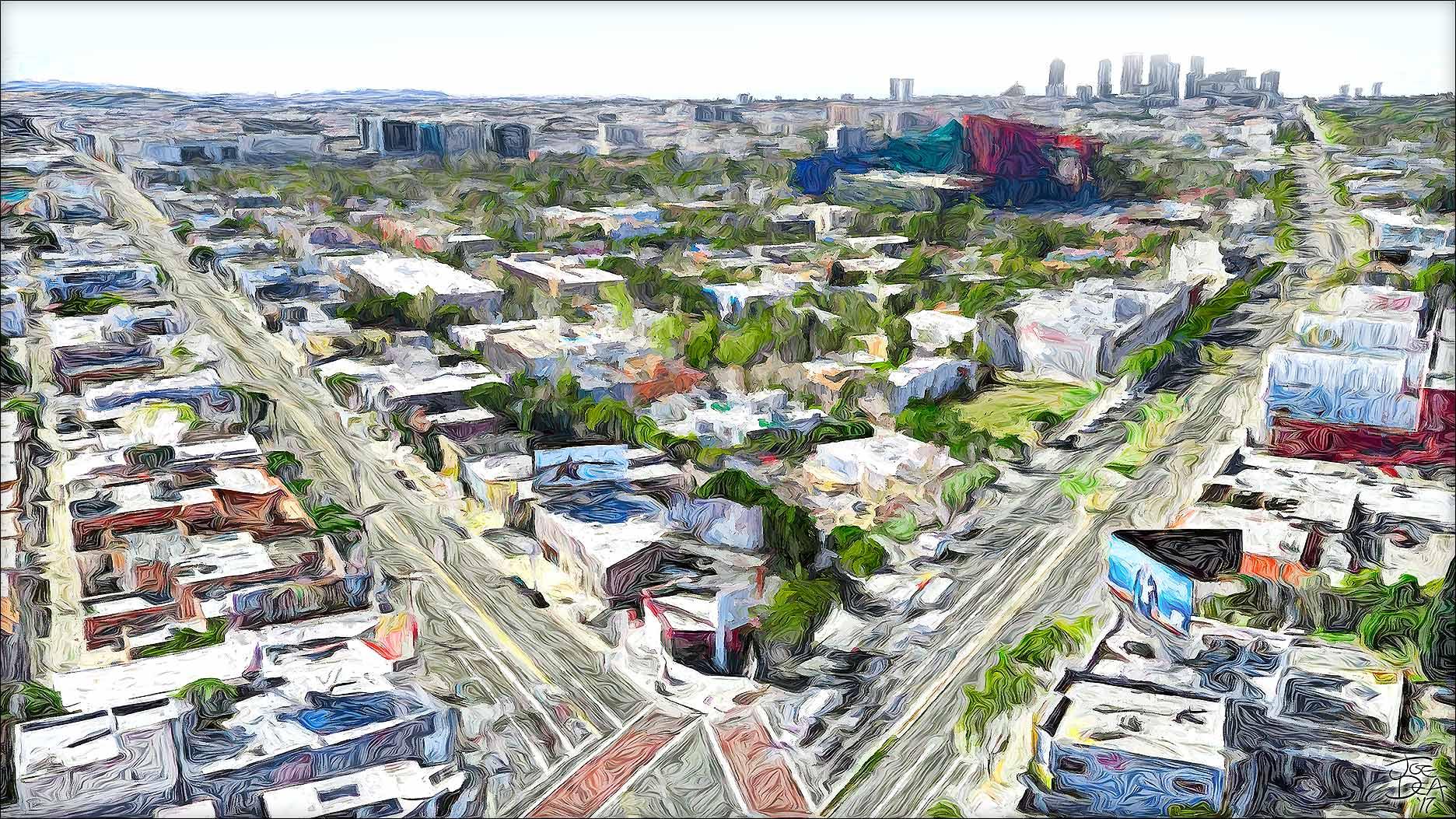 West Hollywood - La Cienega & Santa Monica