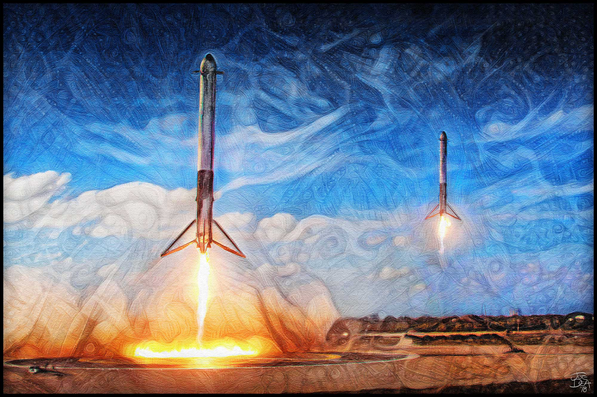 Joe_Dea_SpaceX_Falcon_Heavy_Double_Landing_Painting_2018web.jpg