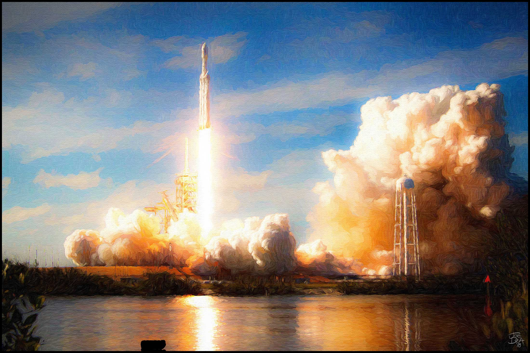 Joe_Dea_SpaceX-Falcon-Heavy-Launch-Painting-1.jpg