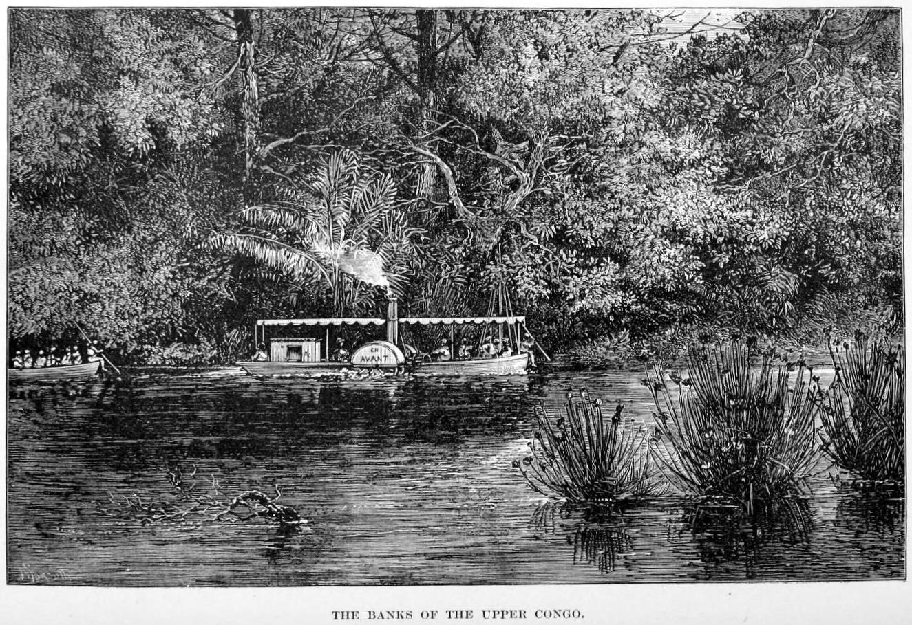 The Banks of the Upper Congo. H.M. Stanley,     The Congo and the Founding of its Free State; A Story of Work And Exploration   (New York: Harper & Brothers, 1885).