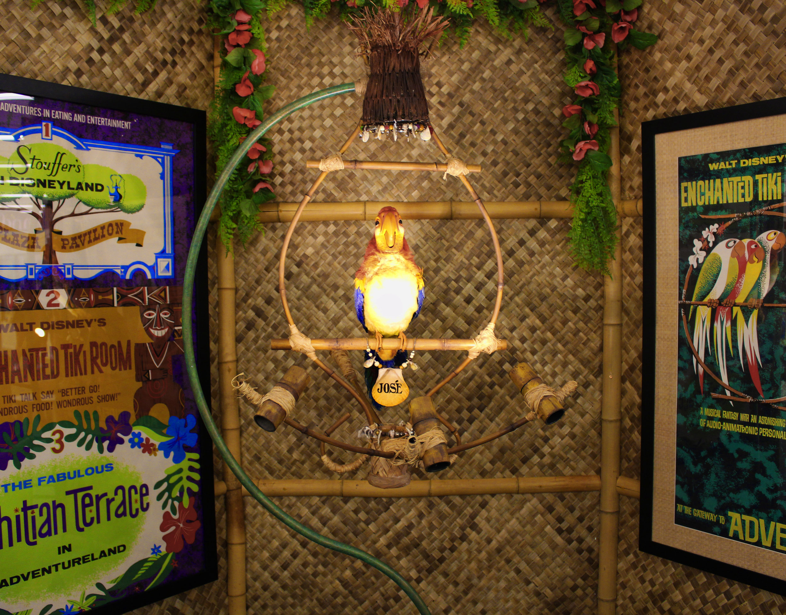 Jose from the Enchanted Tiki Room was without a doubt one of the most popular and spellbinding items at the exhibit. Jose ended up selling for $370,000.