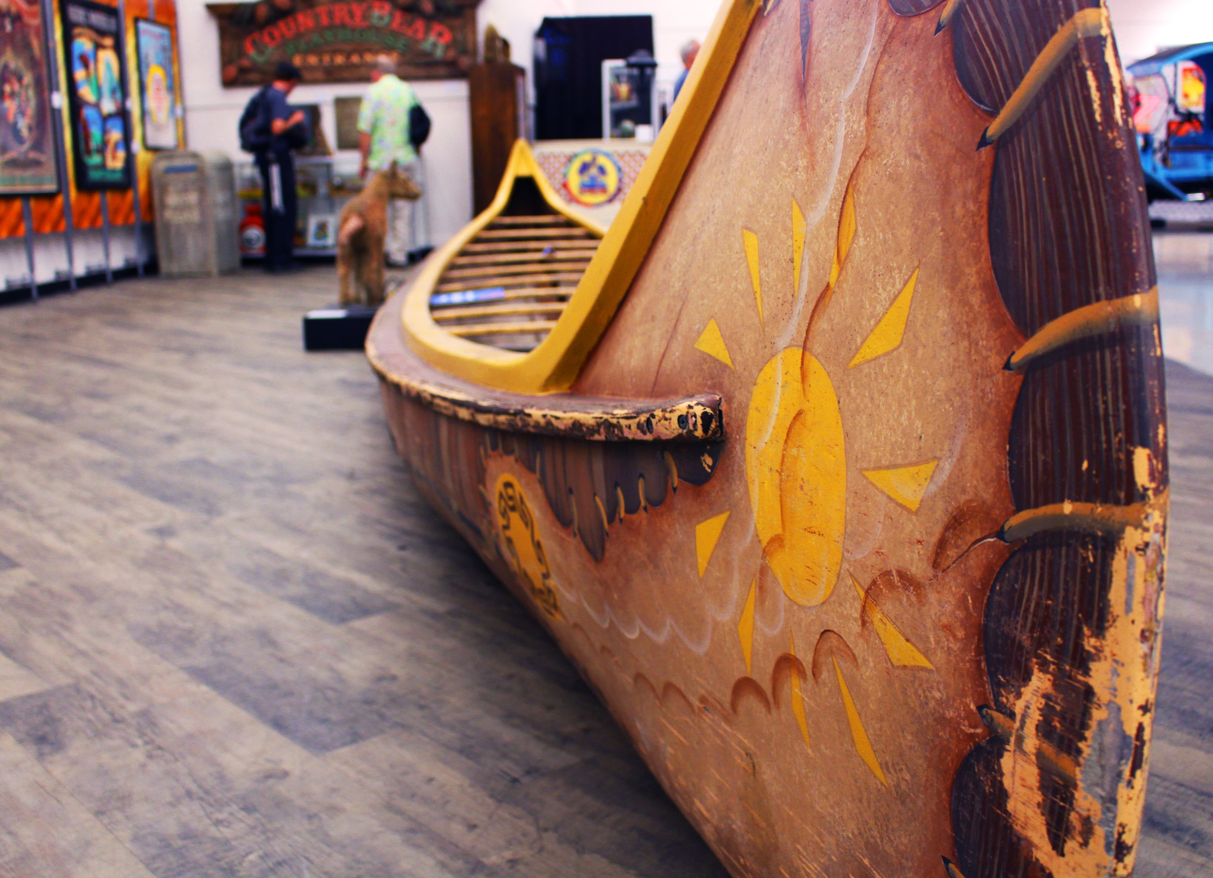 This Davy Crockett Explorer Canoe, in use in the 1990s and early 2000s, went for $6,000.