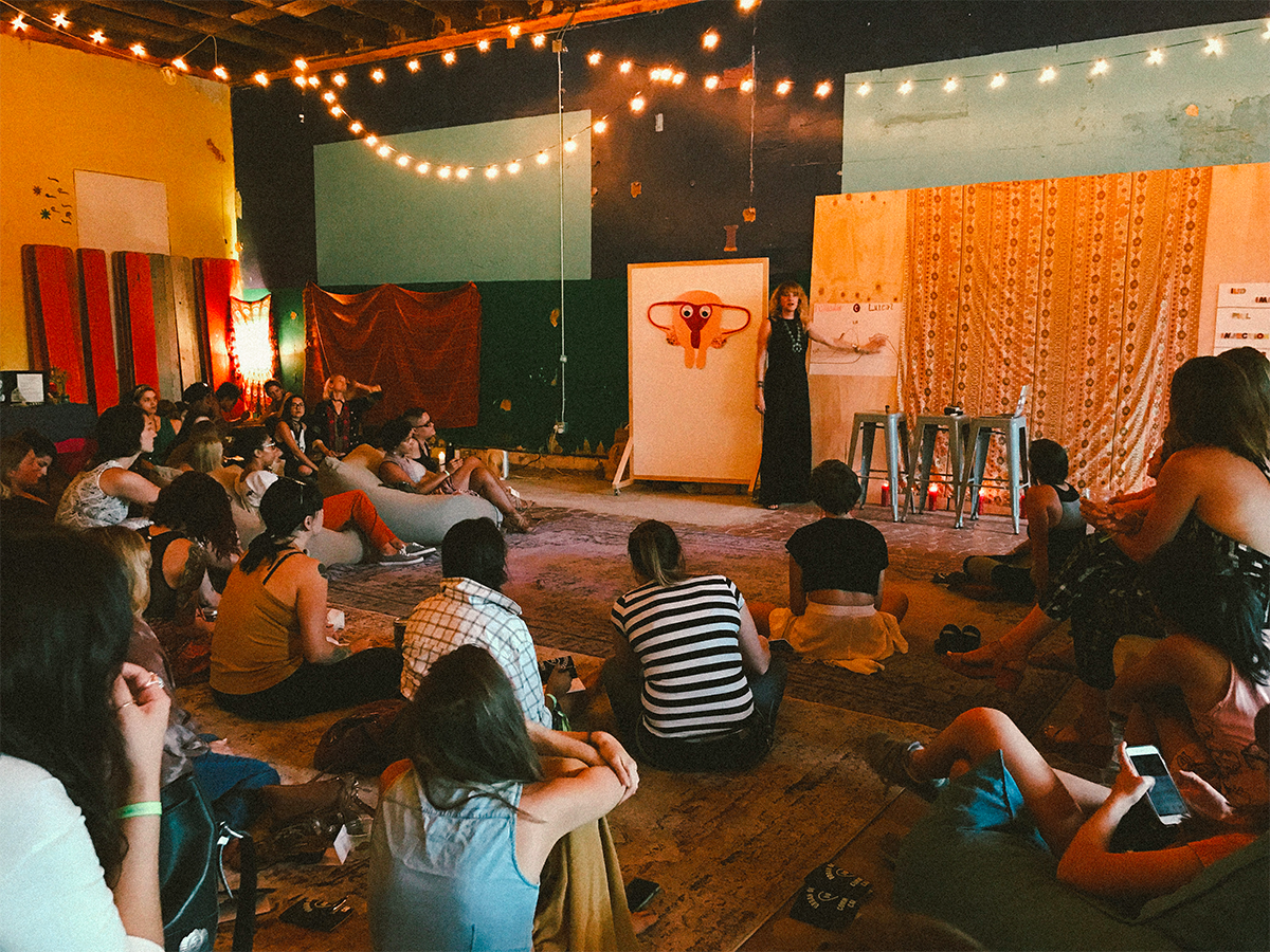 Past Events - In partnership with Urban Outfitters: Space 2420, New Moon Rising Events held an evening of  Women's Health + Empowermentin Austin, Texas.