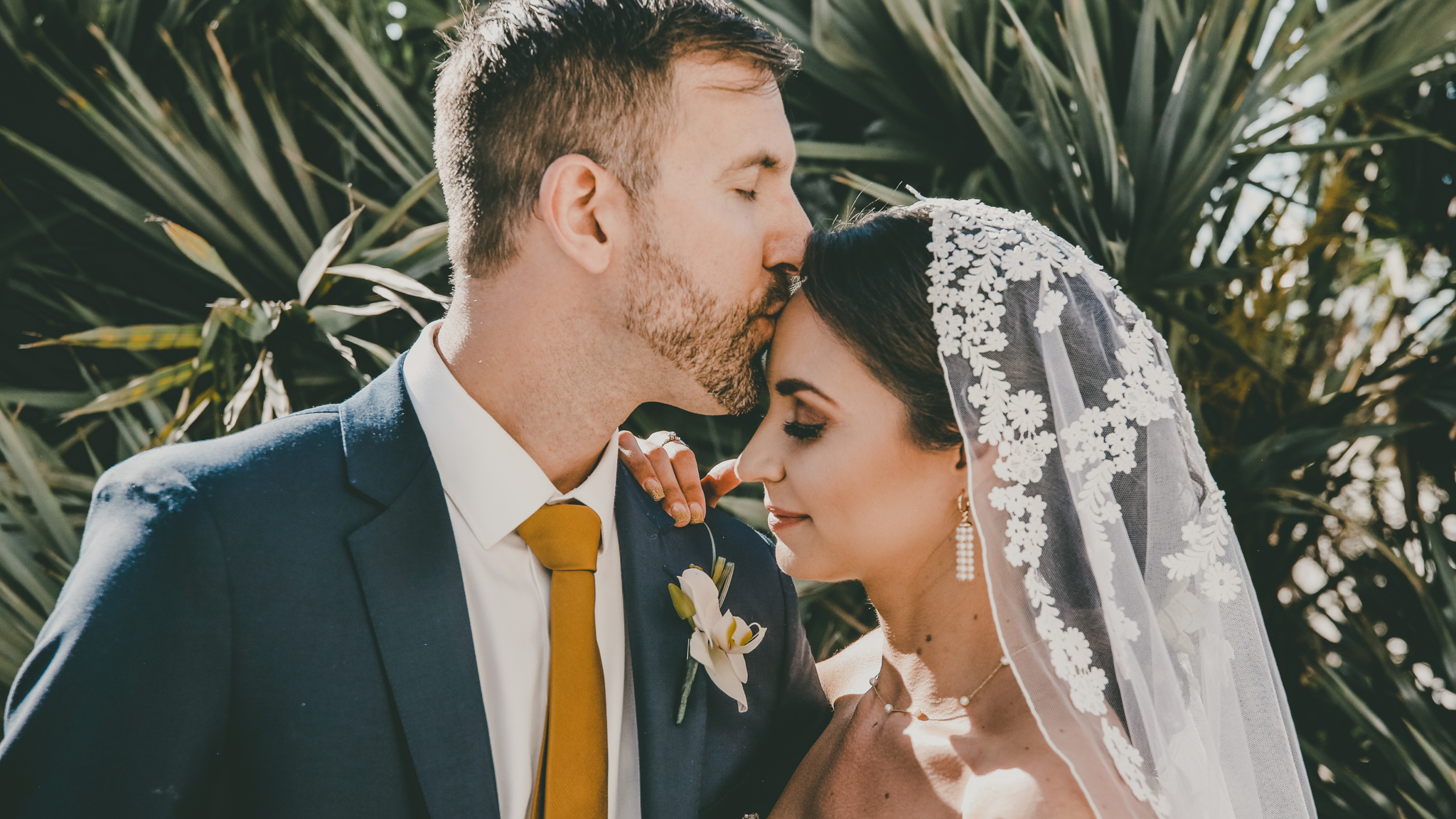 Marco Island Wedding Bride and Groom