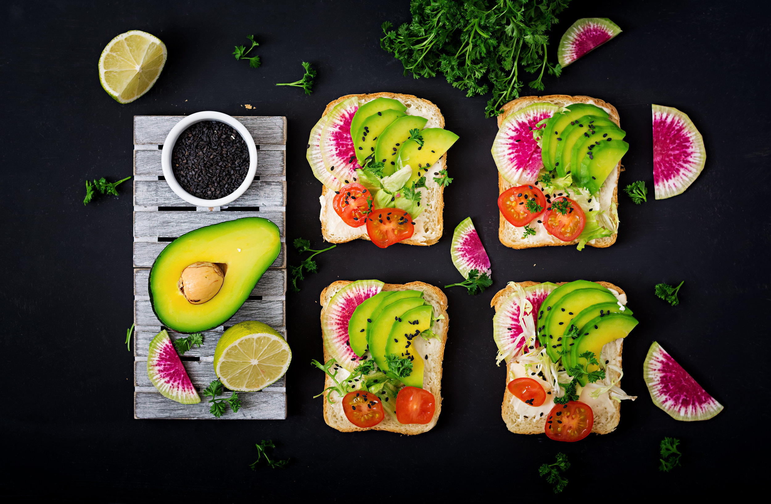 vegan-sandwiches-with-avocado-watermelon-radish-PM7B5U7.jpg