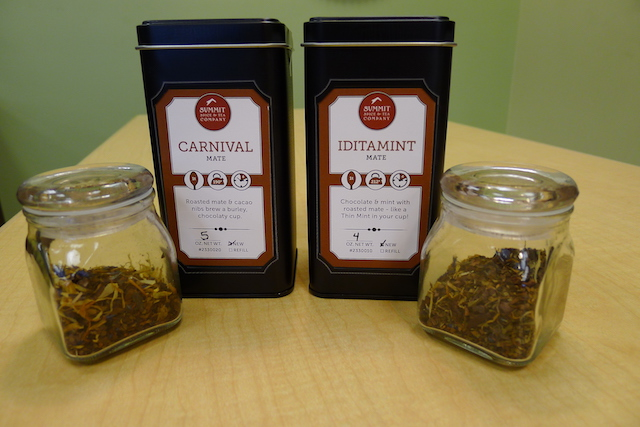 Photo by Melissa DeVaughn  Summit Spice & Tea is an Anchorage, Alaska, company specializing in hand-made spices, teas, rubs and other specialty products. Its mate is particularly popular among campers and backpackers. (summitspiceandtea.com)