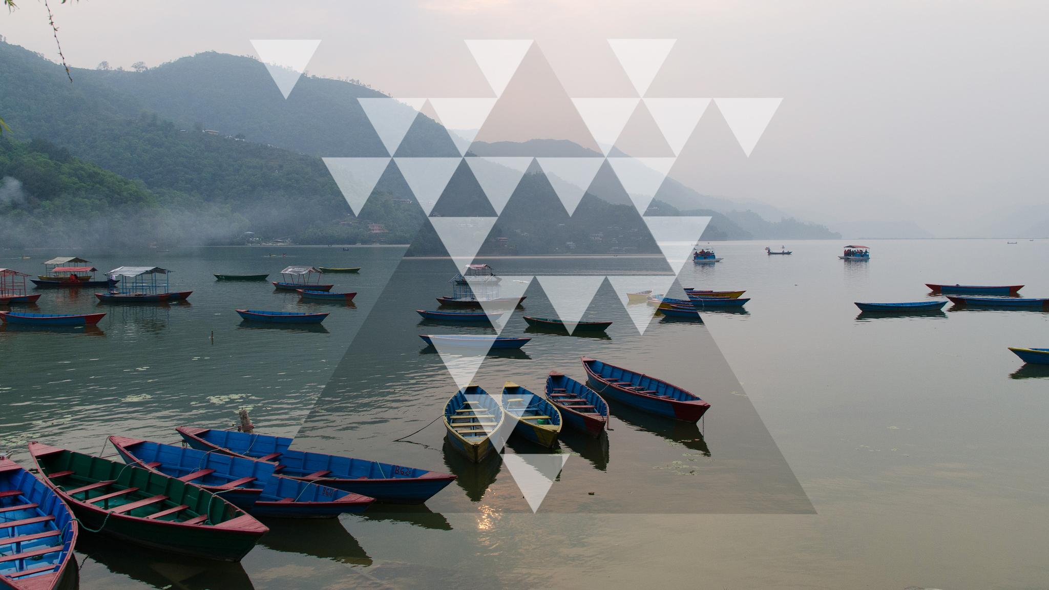 Phewa Lake - Pokhara, Nepal