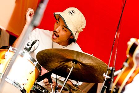 Shin Kokawa (Drums)