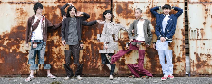 Jumpei Sugihara (PA)       Giga Dylan (Gt/Vo/synth)      Toki Imada (Ba)      Jun Irimajiri (Dr)         Fukunosuke Abe (Gt)