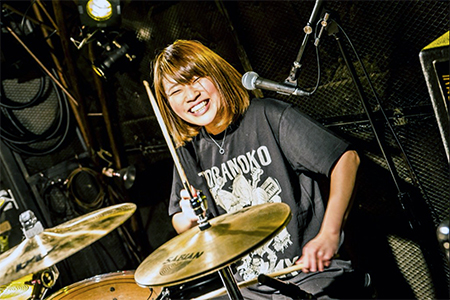 TK Mihoka (Drums/Chorus)
