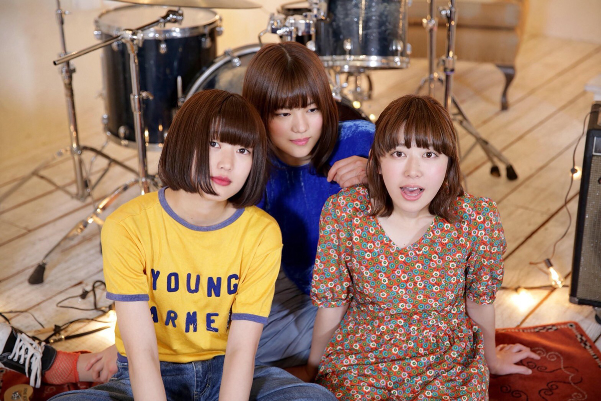 Kanako Sekizawa  (bass, chorus)                   Naho Shibahara  (drums, chorus)                  Chisato Kokubo  (vocals, guitar)  Lucie,Too is a female 3-pc indie-pop band from  Utsunomiya , a town two hours by car north of Tokyo. Utsunomiya is famous for its  gyoza  (potstickers) but soon it'll be the city known for being the hometown of Lucie,Too. The name of the band originates from a song by US indie rock band  Now Now . Chisato writes all of the songs and seems to listen to a sh*tload of US and UK twee for inspiration (eg  Tiger Trap  and  Talulah Gosh ). She is unbelievably talented at songwriting and has a genius level aptitude for composing simple yet great songs with timeless melodies.  Flanking Chisato on bass is Kanako who is the coolest bass player you could ever meet. Crazy beautiful but hiding her face behind giant bangs, so smooth yet so ill in her playing technique and footwork, charming and unpretentious in conversation and sporting pants so baggy  Rick Howard  would blush. (note: I grew up in Vancouver skating in the 90s and was pretty good but Rick was an alien—so naturally talented I basically gave up and quit. lol). And the backbone holding it together on skins is Naho who blends power with ultra-creative fills. She used to drum for another band from Utsunomiya named  SUNNY CAR WASH but switched over to Lucie,Too to form the ultimate twee-o (*groan*.)
