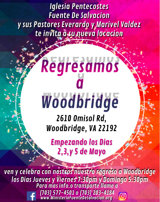 Regresamos a Woodbridge Flyer.png