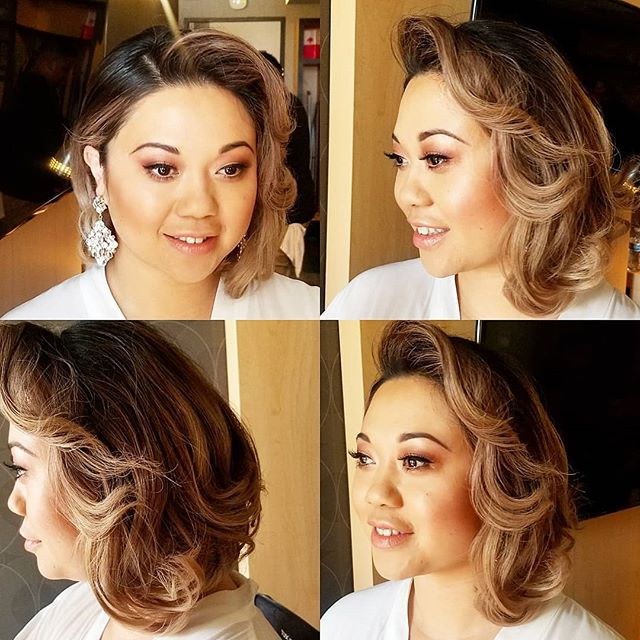 #bridalglow on the beautiful @_sayche so happy to share this day of #love with you! #bridalmakeup #bridalhair