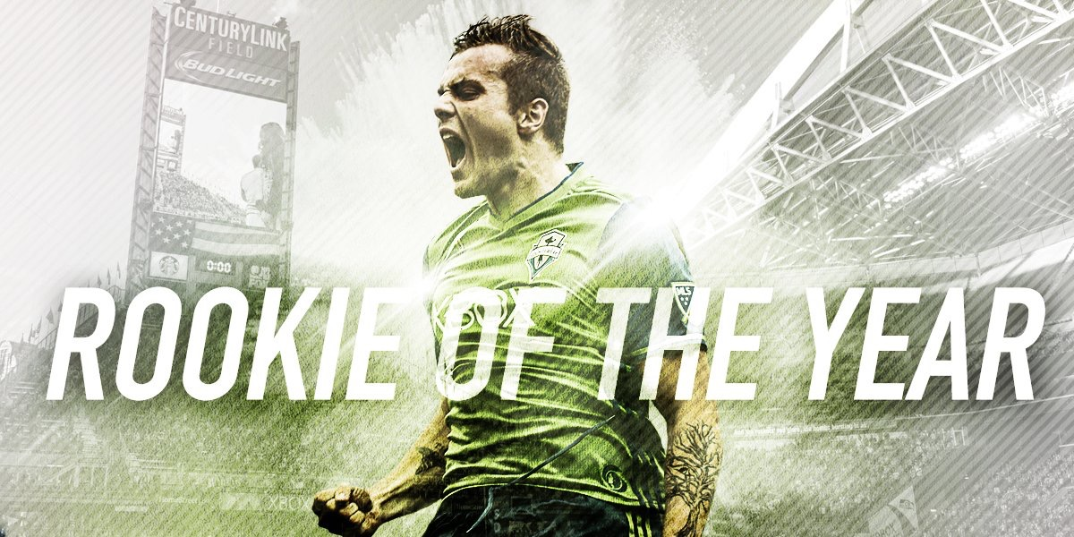 SEATTLE SOUNDERS - -2016 Rookie of the year