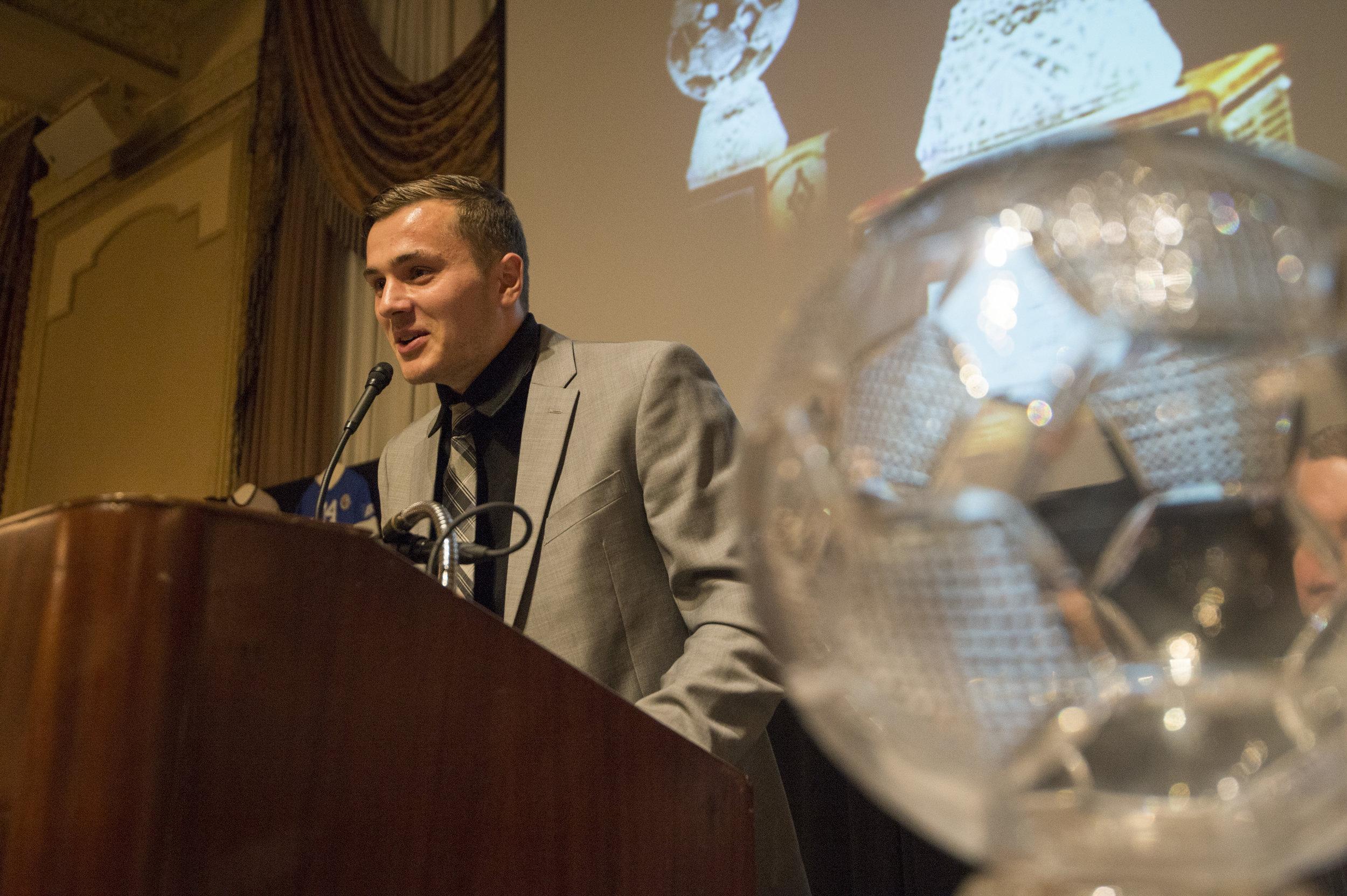STANFORD: - -2016 Hermann Trophy Winner