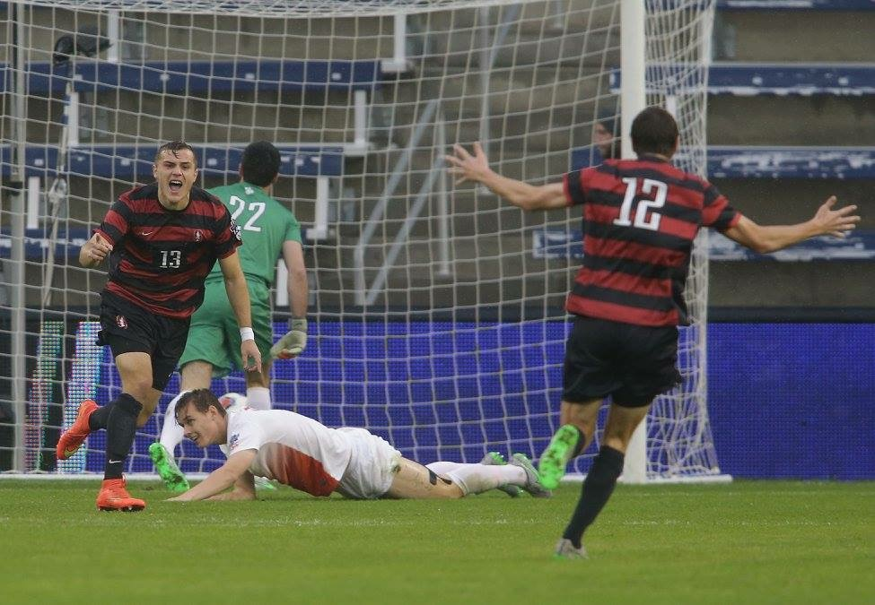 STANFORD: - -Two Goals in NCAA Championship Game