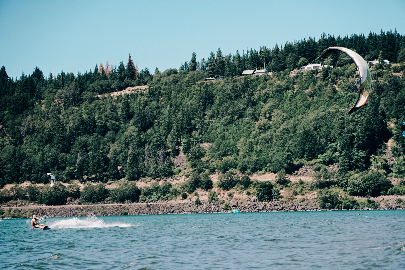Edward Arthur Dalton  catching some world renowned Columbia River wind in the windsurfing capitol of Hood River, Oregon.