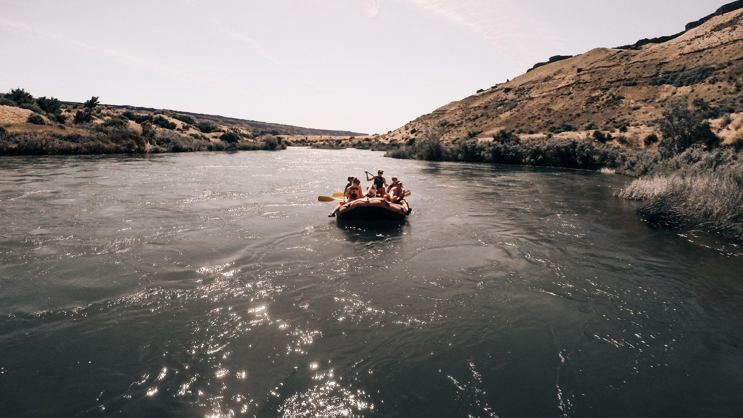 "🎶 ""Rowin' , Rowin' , Rowin' on the (Snake) River!"" 🎶|   Edward Arthur Dalton"