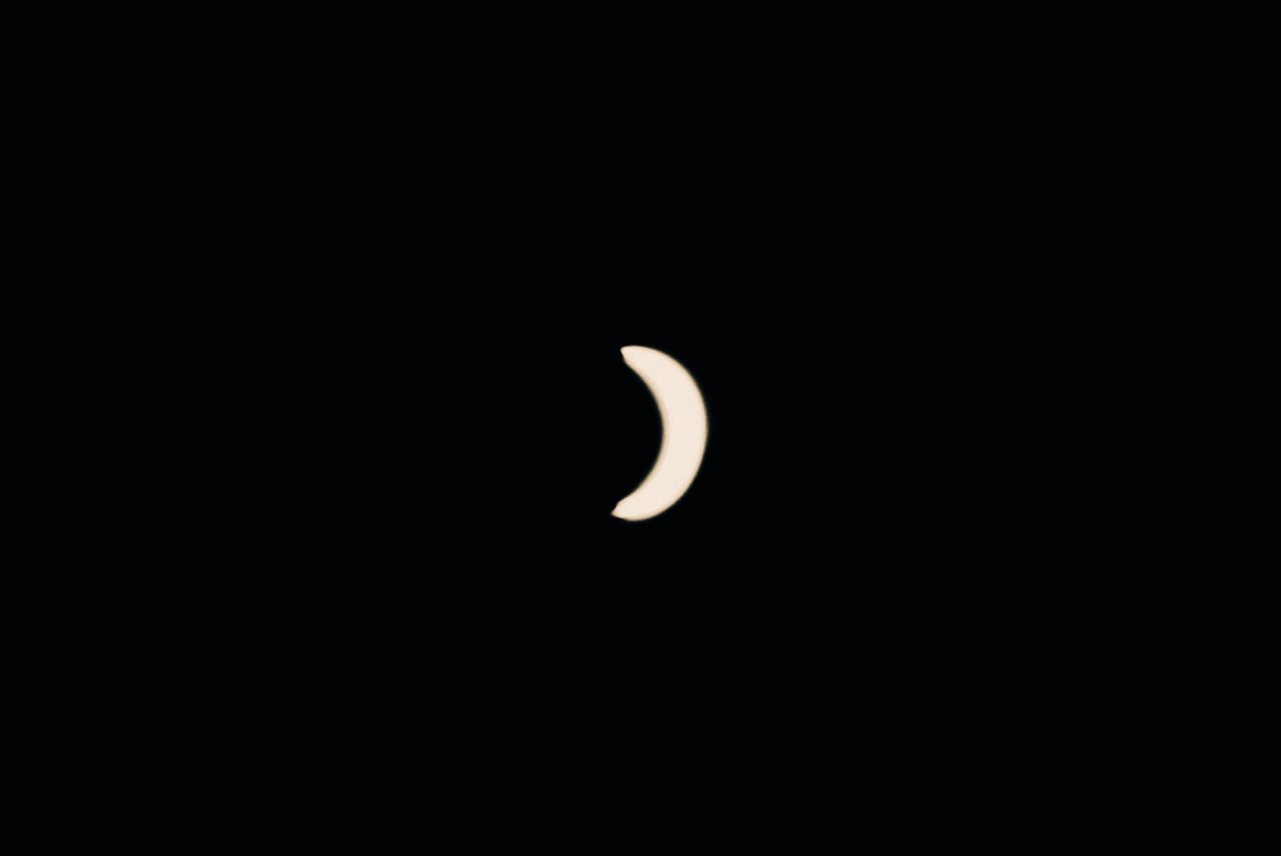 Partial Solar Eclipse over The Great Basin| Edward Arthur Dalton
