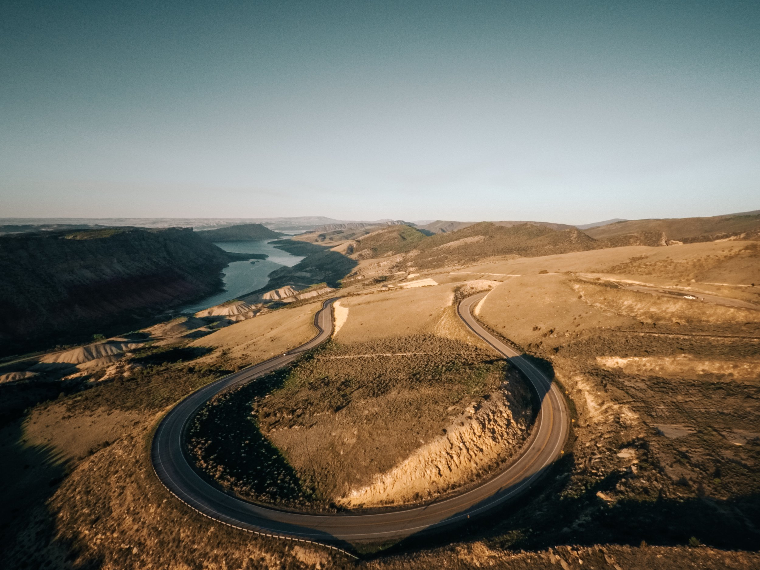 There is no fast or straight roads through Flaming Gorge and the Uinta Fault Line, only slow winding roads with amazing vistas! |    Edward Arthur Dalton