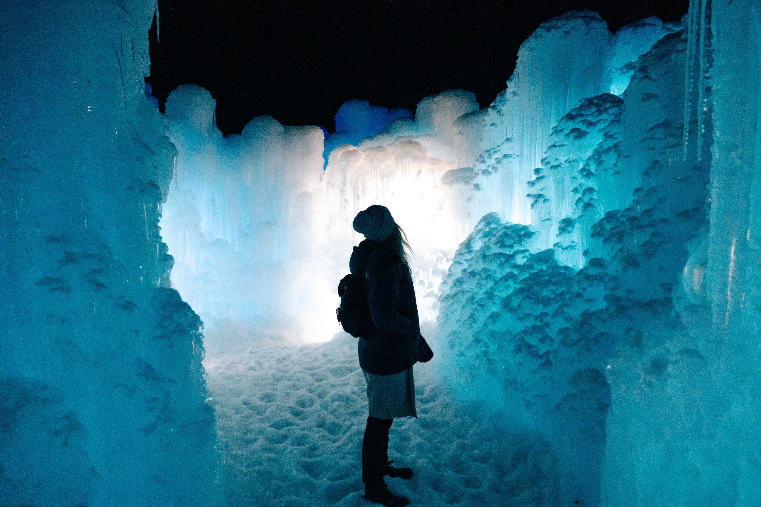 Midway Utah Ice Castles!|   The Dream Chasing Family