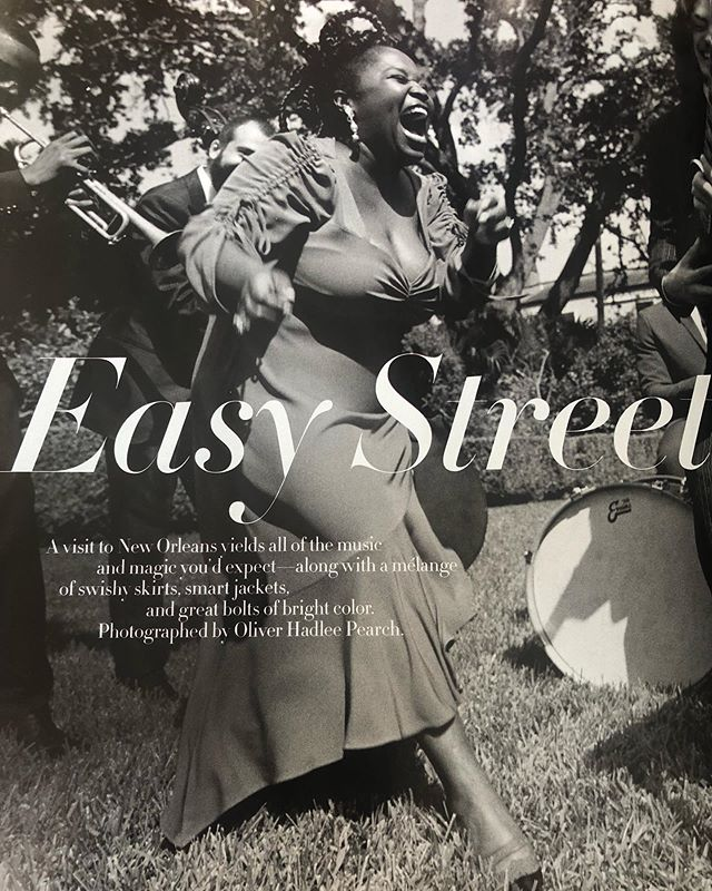 Kind of cool when you open up the @voguemagazine September issue and see your own work.  Thank you for letting me assist you @susiesobol_makeup #vogue #septemberissue #neworleans #neworleansmakeupartist #easystreet