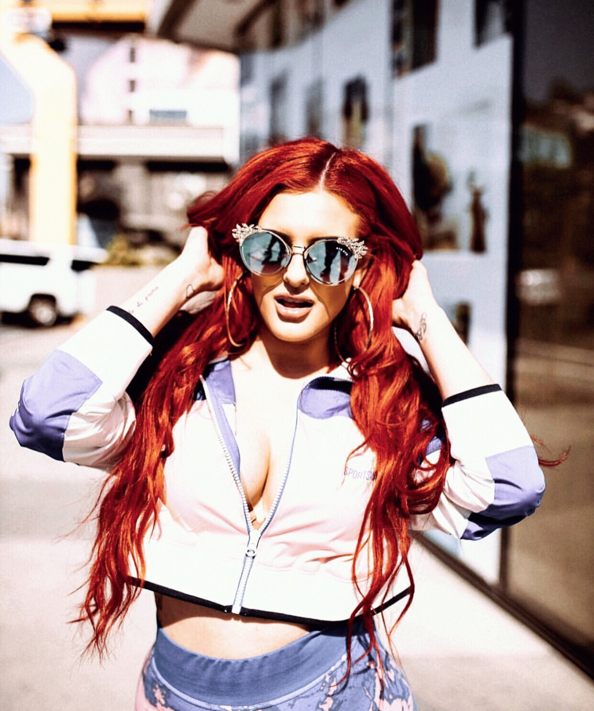 Justina Valentine - Justina Valentine is an American rapper, singer, songwriter and model from Passaic County, New Jersey, best known for her singles