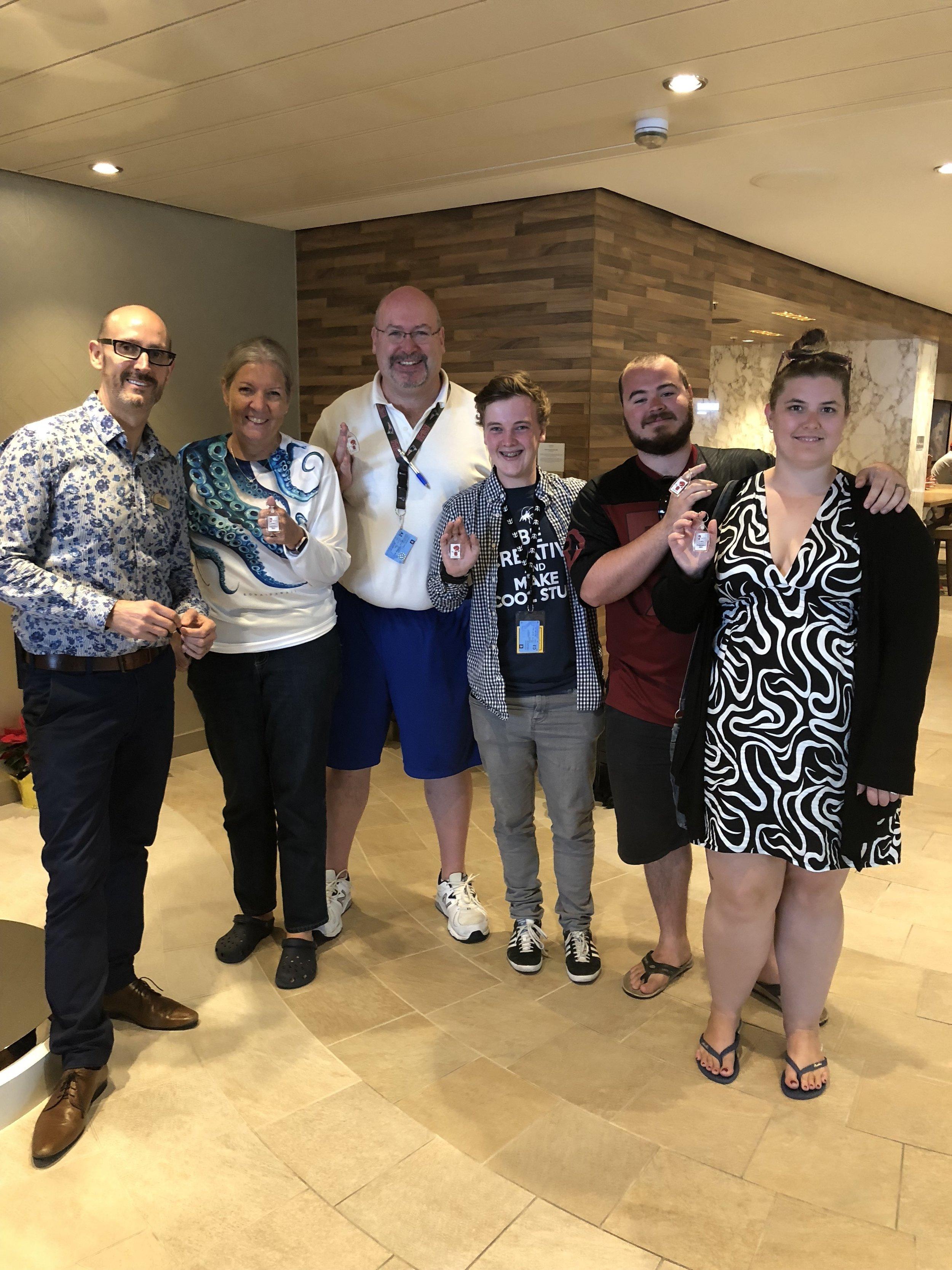 Opening 2017/18 Australian Season Champions on board Ovation of the Seas