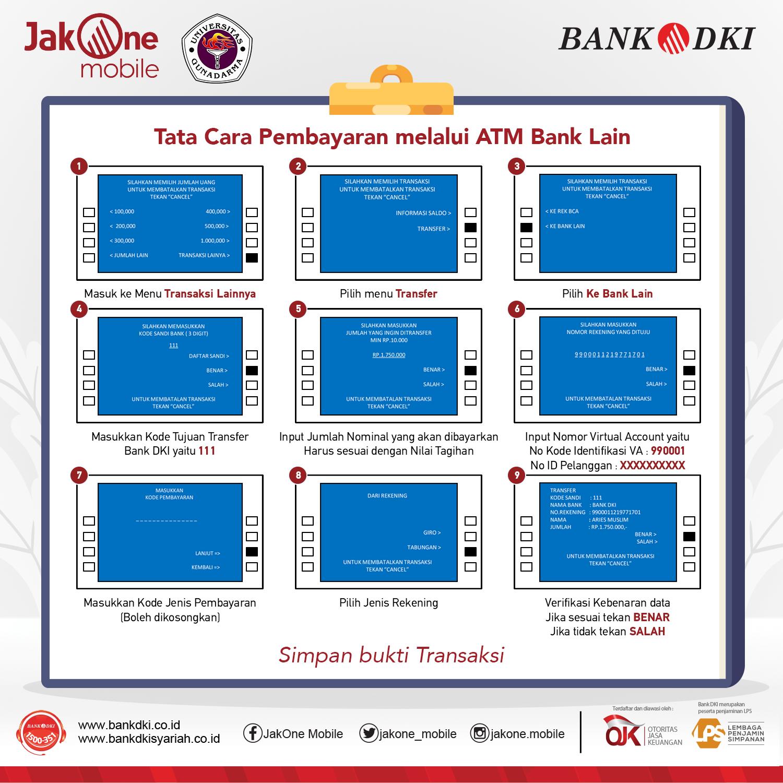 Kini Bayar Uang Kuliah Di Universitas Gunadarma Lebih Mudah Bisa Dirumahaja Jakone Mobile Bank Dki