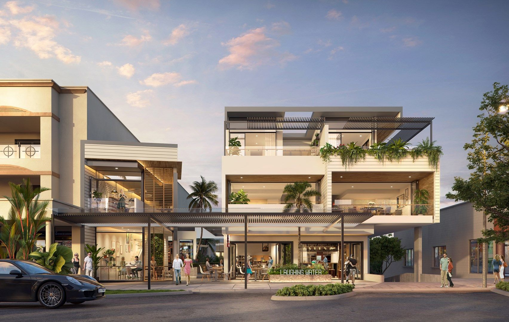Laughing Water Port Douglas TPG Architects streetscape.jpg