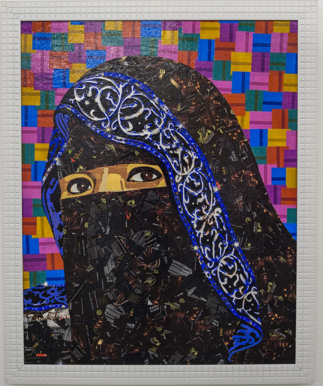 """""""I want to bring attention to the possibility of transforming a medium that is perceived as invaluable to something that could be showcased at museums."""" - - Ghadah Alrabee"""