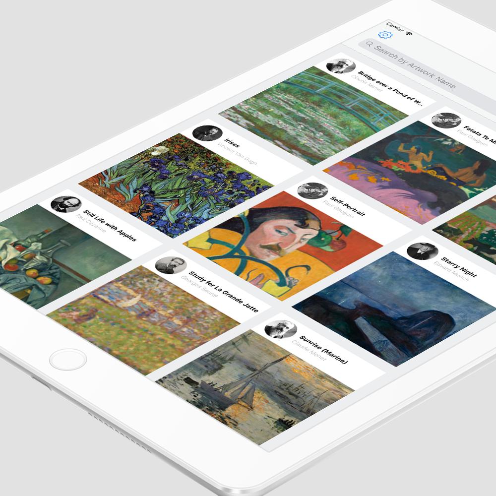 Veevart Collection App - IOS APPLICATION