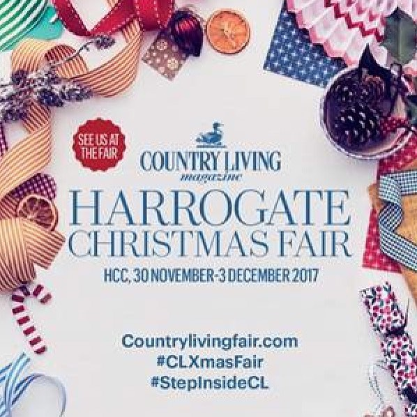 Don't miss out on the opportunity to see us at the Country Living Harrogate Christmas Fair. We have 15 pairs of tickets to give away! Just head to www.theticketfactory.com/harrogate-christmas-fair and use promo code CLHAR134. Hurry, they won't last long!  #freetickets #countrylivingmagazine #countrylivingfair