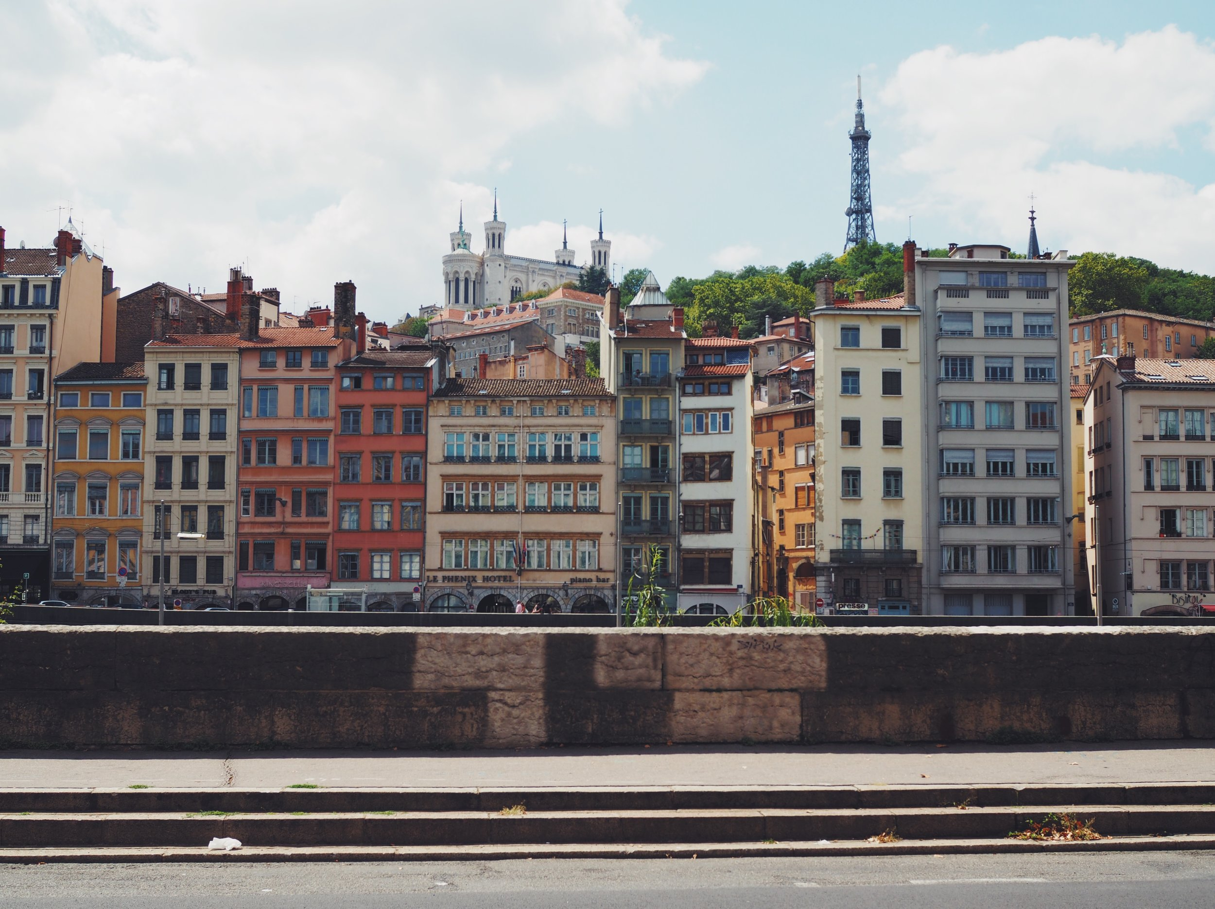 Across from Vieux Lyon
