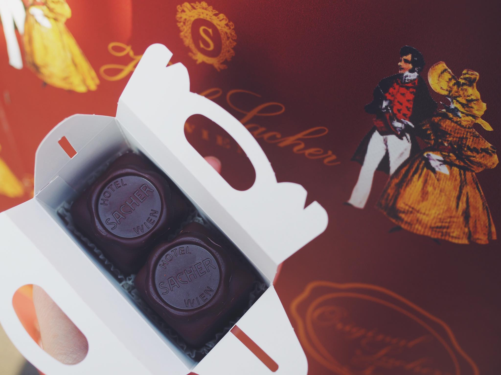 Sachertorte from  Hotel Sacher