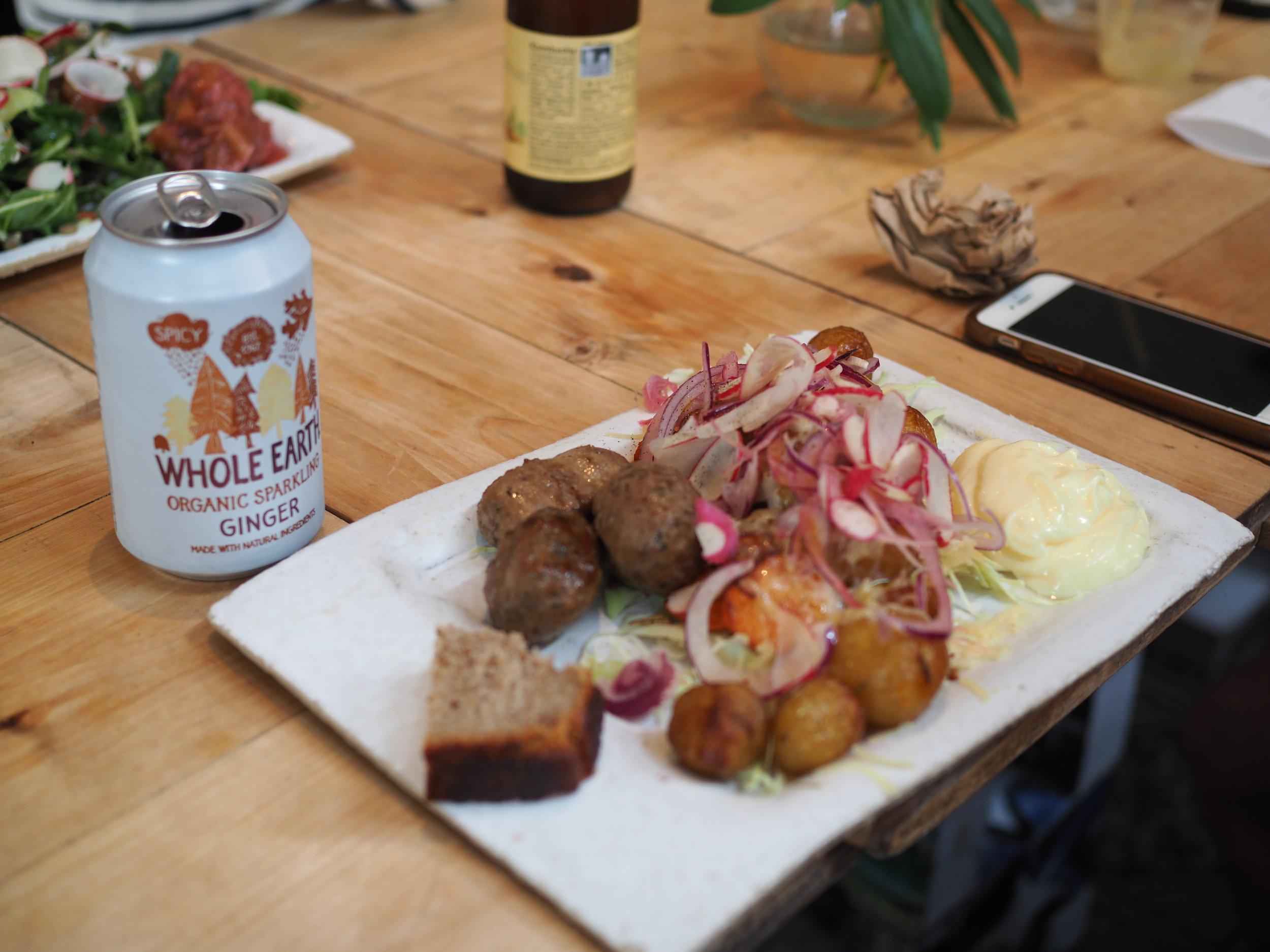 Lunch at Kalf & Hansen