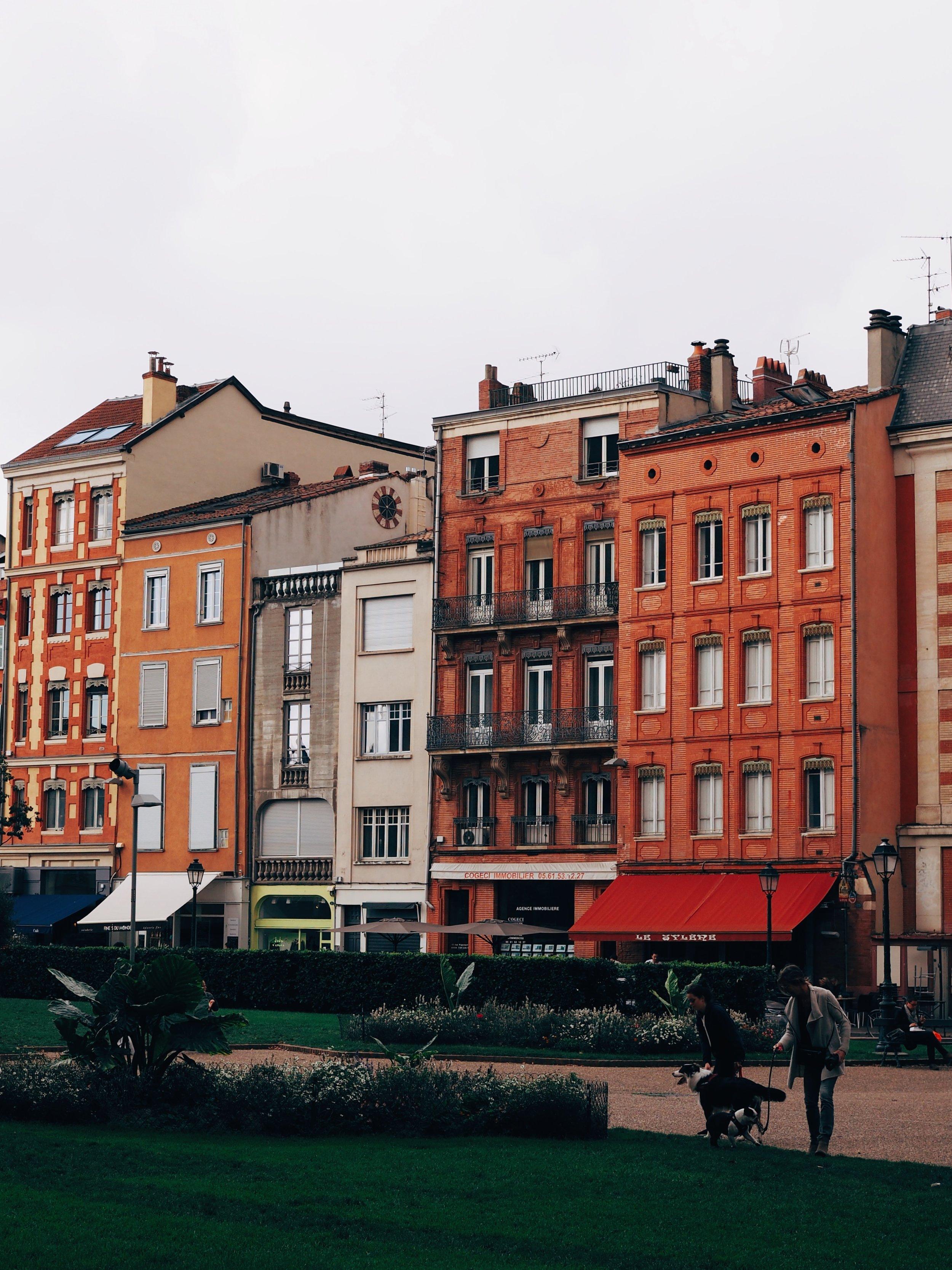 Looking out from Cathédrale Saint-Étienne de Toulouse