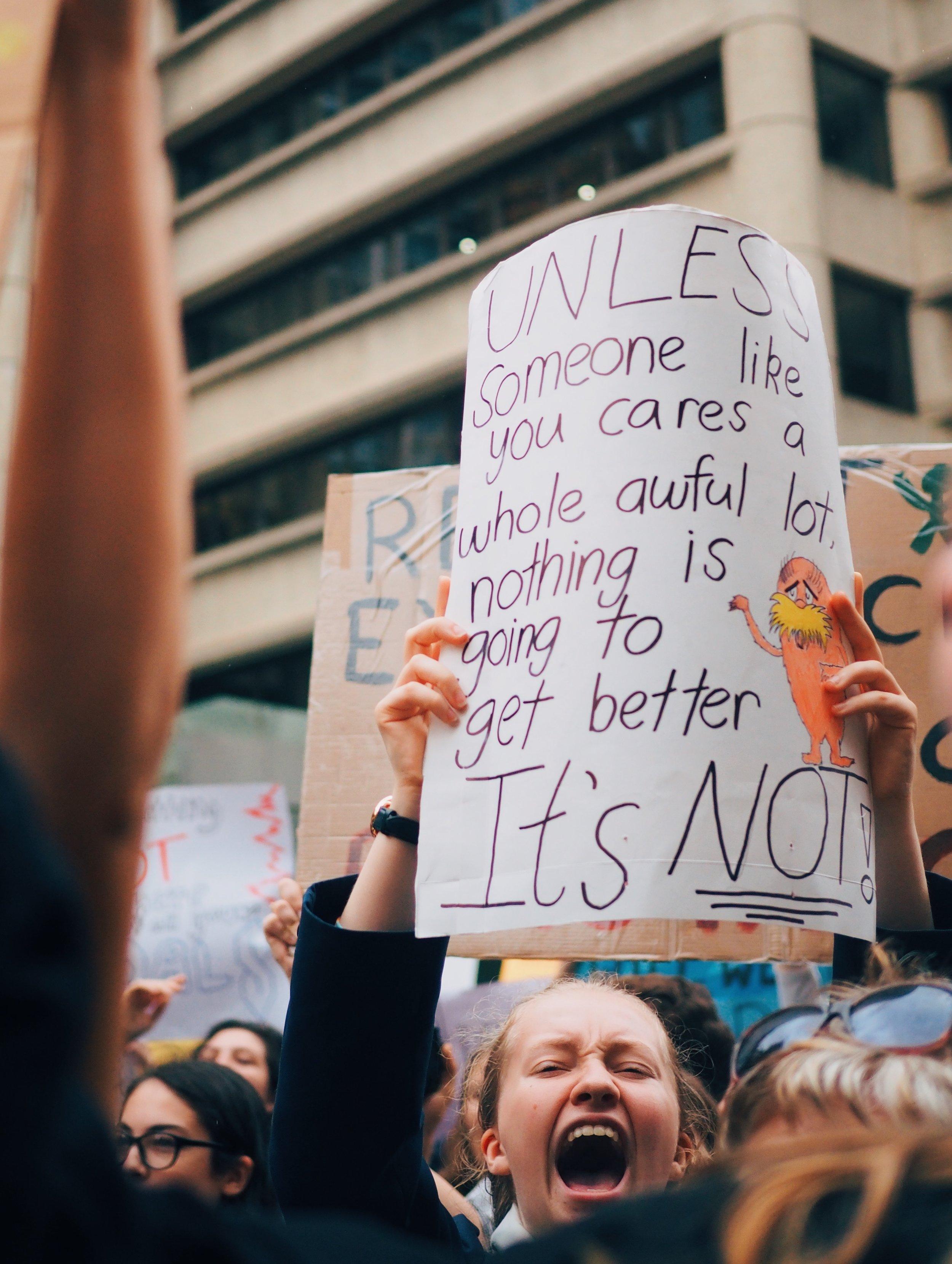 - School Strike 4 Climate | March 15 2019 | Sydney Strike