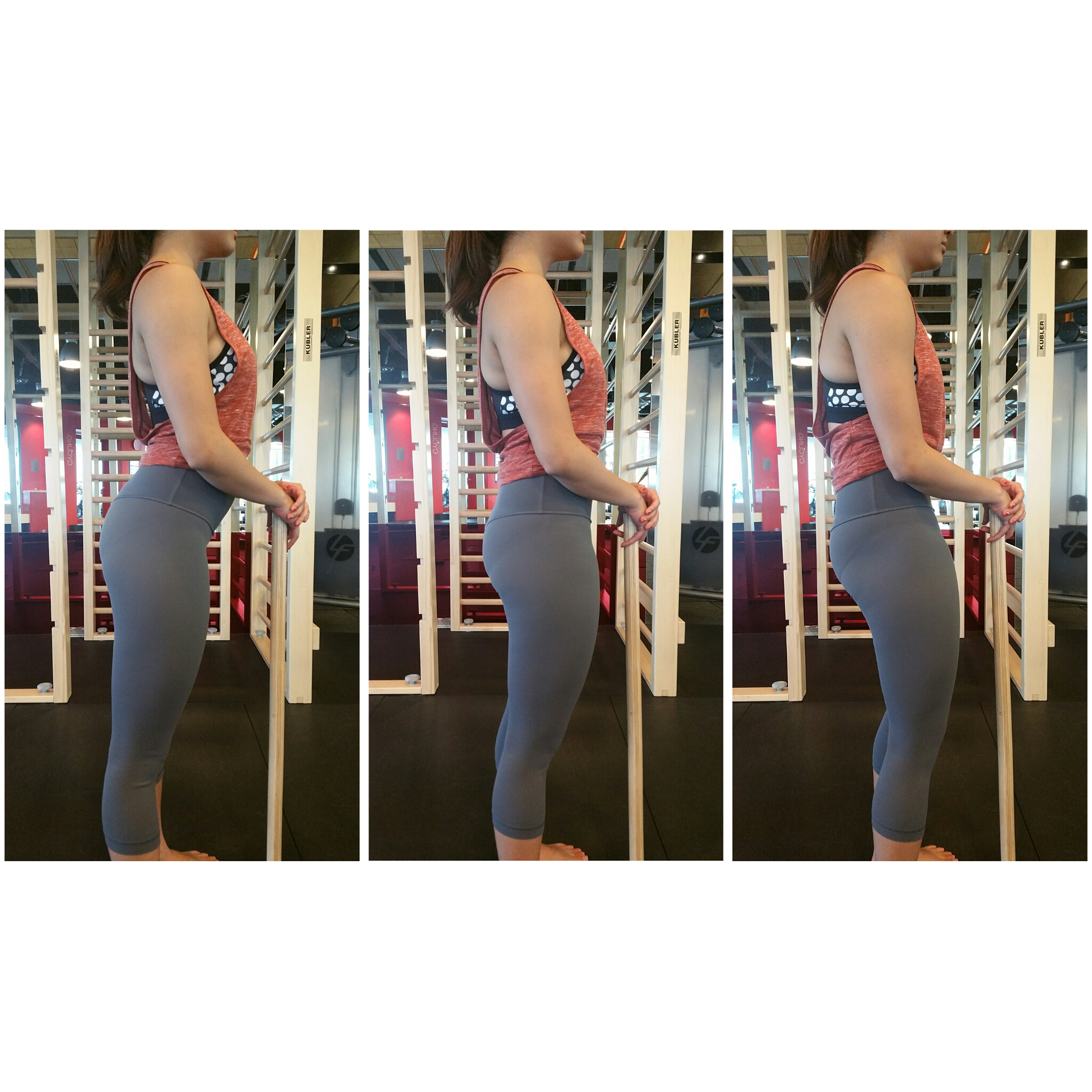 (iii) Pelvic tilt- Simply put, if you are sitting a lot, the front of your hips (hip flexors) will be tight and so will be your lower back. Your butt will be drawn back which results in an 'overarch' of the lower back.