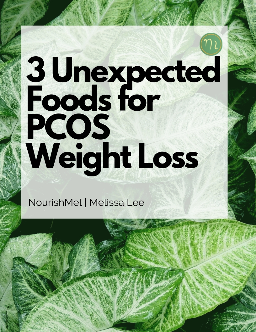 Foods to help with Weight Loss and Pill Reset - One of the ways to reset post pill is to incorporate foods which can help with hormonal balancing. Check out why these three foods made the list for PCOS Weight Loss.
