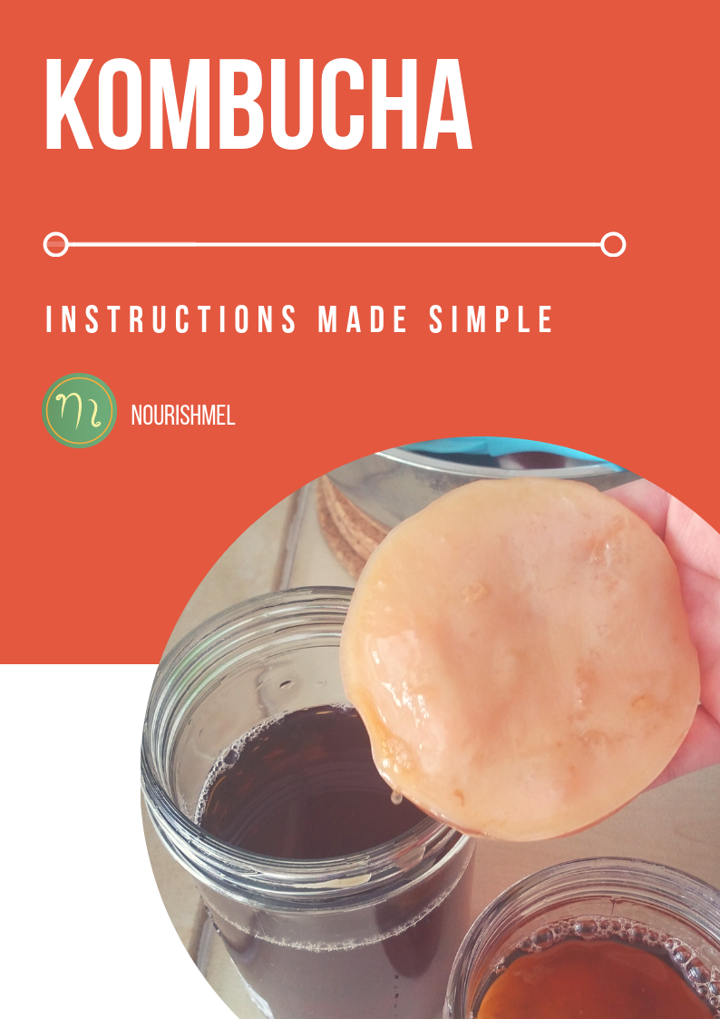 Want to make your own kombucha? - Kombucha can be a good way to get your source of probiotics in and can help ease digestion and bloating in some people. My guide tells you step by step how to have your own SCOBY and how to ferment tea at home.