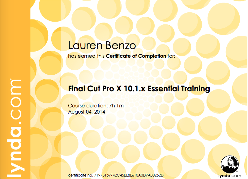 Final Cut Pro X 10.1x Essential Training- August 2014.png
